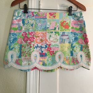 Lilly Pulitzer State of Mind Tate Skirt